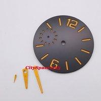 Strumenti di riparazione Kit orologio per orologi 38,5 mm Panini luminosi a quadrante sterile, adatto per ETA 6497 ST3600 Movimento di avvolgimento