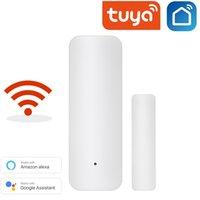 Sensore della porta Smart WiFi Aperto / Chiuso Sicurezza Sicurezza Sistemi di allarme Rilevatori Avviso di notifica Alexa Alexa Google Home