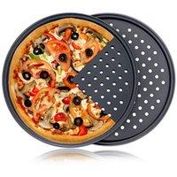 Pizza Nun-Stick Tray Tray Pan Carbal Steel Дизайн с базовой термостойкой штамповой утварью