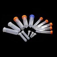 Fournitures de laboratoire Tube de centrifugeuse en plastique 10 ml / 15 ml 50 ml de bouteille de graine de graine de fond EP en bas