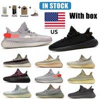 Kanye Running Shoes Top Quality Yecheil Cinder Clay Arcilla Stay Light Cream Blanco Negro Rojo Zebra Mesa Zapatillas de deporte Zapatillas de deporte Bádminton Golf Men Mujer Tamaño 36-46