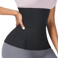 DHL SHIP Updated Version Trimmer Belt VS FeelinGirl Waist Trainer for Women Sauna Belts Tummy Wrap 3meter 4meter 5meter 6meter with Opp Bag 100701