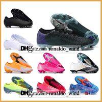 Подарочная сумка Мужские высокие вершины Футбольные ботинки MBAPPE CR7 Mercurial Pupors 13 XIII Elite FG CR100 Neymar ACC Superfly VII CR100 Футбольная обувь