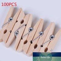 10 pcs mini roupas de madeira natural foto papel peg pin pino clipes de artesanato de artesanato de papelaria de escritório escolar