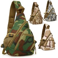 Outdoor Bags Men's Trend Camouflage Crossbody Chest Bag Large Capacity One-shoulder Travel Messenger Tote Storage Women