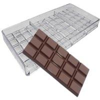 2021 베이킹 금형 폴리 카보 네이트 초콜릿 바 몰드, DIY 베이킹 페이스 트리 제과 도구 달콤한 캔디 초콜릿 금형 1477 T2