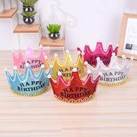 Children's Party Suppli Hat Prince Princs Crown Cake Led Luminous Hoop Headdrs