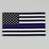 رقيقة blueline usa أعلام الشرطة سيارة ملصقا الولايات المتحدة الأمريكية العلم الشاحنات الكمبيوتر صائق ملصقا 11.43 * 6.35 سنتيمتر سيارة صائق نافذة ملصقا CYZ3079