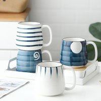 500ml Large Capacity Japanese Hand Painted Ceramic Cup Mug S...