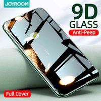 Private Screen Protector For iPhone 12 11Pro Max X XS MAX XR Anti-spy Tempered Glass 12 mini Privacy Joyroom