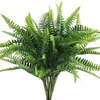 Arbuste Artisanat Artisanat pour bureau de jardin d'extérieur Balcon Décoration de mariage / 10 bouquets Couronnes de fleurs décoratives