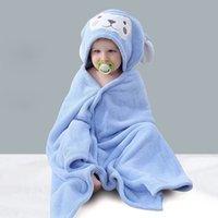 Super Soft Polar Fleece Baby Swingdling Born Cape Cloak Coperte con cappuccio sacco a pelo con cappuccio Mantiene un caloroso asciugamano spesso