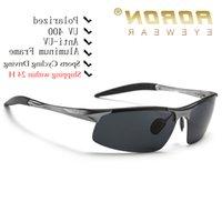AORON DIVALICAL SUNGLASSES 남성 알루미늄 마그네슘 프레임 스포츠 태양 안경 운전자 복고풍 고글 선글라스 UV400 안티 눈부심 도매