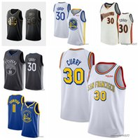 "Jerseys de baloncesto 30 Stephen ""Curry 33 James"" Wiseman 11 Klay ""Thompson Golden"" State ""Warriors"" Jersey 2021 Hombres 0803"