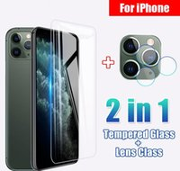 Cell Protectors Full Cover Tempered 11 Pro X Xr Xs Max Camera Lens Screen Protector For Phone 6 6S 7 8 Plus Protective Glass Unxgj Hlgck