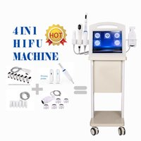 Portable high intensity focused ultrasound therapy12 Lines 6 Cartridges 4 d hifu vaginal tightening vmax Face Lift Skin Tightening Body Slimming