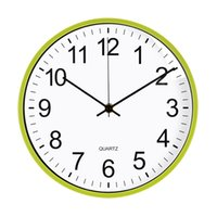 12 Inches Round Mute Digital Scale Wall Clock 3D Living Room Bedroom Walls Clocks Home Rooms Decor Hanging Punch ZXFHP1207