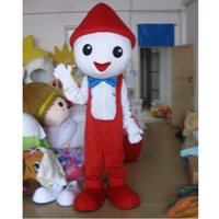 Halloween red hat snowman Mascot Costume Cartoon Anime theme character Christmas Carnival Party Fancy Costumes Adults Size Birthday Outdoor Outfit