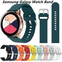 Samsung Galaxy Izle Için Kemer Bilezik Yumuşak Silikon İzle Aktif 42mm Dişli S2 Spor Kayışı Huami Amazfit BIP / Amazfit 2 Akıllı Watch Band