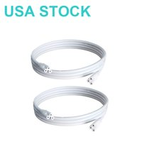 LED Light Tube Power Extension Cords Switch T5 / T8 Adapter Lampkablar 1.8m Fixture Wires with Switchs On / Off USA-lager