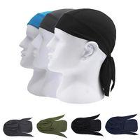 Ciclismo Pirate Men Running Riding Bandana Headscarf Hat Hood Headband Quick Dry Pure Cycling Cap Head Scarf Summer Caps & Masks