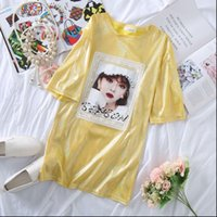 Top da donna Plus Size T Shirt T Shirt Donna Sequined Top Summer Shiny Lady Sparkling Formale Nightclub Stage Costume Dress