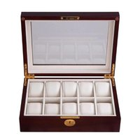 Watch Boxes & Cases Case Fashion Display Portable Wood Lightweight Luxury Jewelry Storage Anti Scratch Gifts Organizer Protective Durable