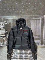 2021 Uomo Piumino di alta qualità Cappotto di alta qualità Inverno Cappotto da uomo Giacche leggero Giacche Leggerie Giacche Casual Cappuccio Trendy Cappuccio Cappuccio Cappuccio Black Puffer Mens Teddy senza maniche