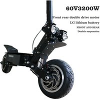 Electric scooter 60V45AH lithium battery 3200W high speed motor fold electric off-road scooter max speed 95km h range 150km