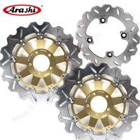 Arashi Z750 Z750S Передние задние тормозные роторы ротора дисковый набор для Kawasaki Z750 2004 2005 2006 Z 750 Z750S 2005 2006 Z1000