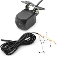 Car Rear View Cameras& Parking Sensors Mini Auto WIFI Night Vision Monitoring HD Waterproof 12V Wide Angle Cam 150 Degree Safety Wireless Ba