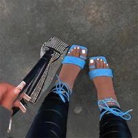 Sandals Woman 2021 Flat Square Hood Toe Straps Plus Size Shoes Zapatos De Mujer Sandalias Chaussure Femme