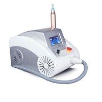 Q Switch nd yag laser maskin ögonbryn tvättutrustning för att ta bort födelsemärken, tatuering avlägsnande och fräscha borttagning