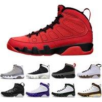 مع صندوق Jumpman 9S شيلي أحمر رجالي أحذية كرة السلة JBC الحمضيات 9 IX تغيير العالم حلمه UR لا أوريو بريد الفضاء مربى الرجال المدربين الرياضة أحذية رياضية 40-47