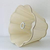 Lamp Covers & Shades E27 Big Size Table Lampshades Art Deco For Lamps Fabric Lampshade Modern Style Cover Floor Light