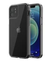 Transparent Shockproof Camera Protection Phone Cases For iPhone 11 12 Mini 13 Pro Max X XR 6 7 8 SE2020 Soft TPU 2 in 1 Case