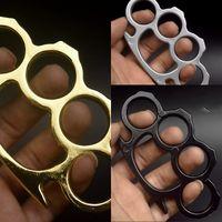 Szklane włókno palec Tygrys Cztery Palce Kajdanki Ochronna Gear pierścień Żelazny Przenośny Urządzenia Pierścionki Klamra Hand Brace Defense Fist Clop 532 x2