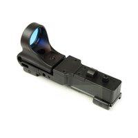 C-mer järnvägsreflex sikt 5 moa röd dot gevär pistol räckvidd med integrerad 20 mm picatinny montering polymer matte