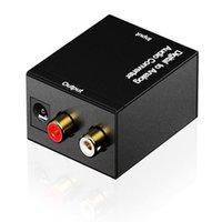 Digital-Adapterador-Kabeloptik-Koaxial-RCA-Toslink-Signal an den analogen Audio-Konverteradapter