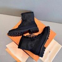 Latest Women high heels Wonderland Ranger Boots, High Heel Desert Ankle Boot in Calf Leather Martin Shoes Rain Boots Size 35-41