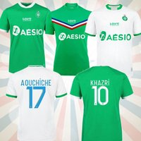 20 Maillot como saints-etienne crianças homem futebol jerseys casa fora adulto 2021 st etienne khazri boudebouz aholou homem conjunto de futebol