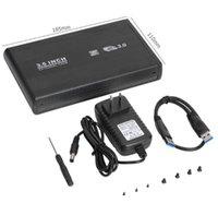 3,5 inç SATA'ya USB3.0 USB 2.0 HDD Muhafaza Kutusu SSD Kılıf Sabit Disk Harici Sürücü Adaptörü