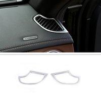 Dashboard de voiture Dashboard Air Sortie Cadre Cover Cover Cover Autocollant ACCESSORES APPORTÉ POUR MERCEDES BENZ S CLASS S320 S350 S500