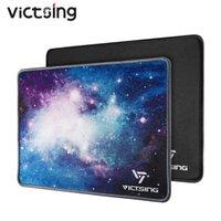 Victsing PC270 2 Packs Pad de souris avec bordure cousue Premium Texture Mousepad Mousepad à base de caoutchouc antidérapant pour ordinateur portable PC