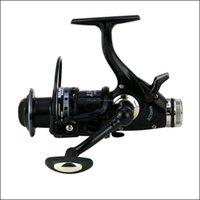 Fishing Sports Outdoorswoen Força de Descarga Dupla KC3000 / 6000 FL Metal Wire Copo de Fio Gire Bobina 5.2: 1 Relação de Velocidade Lago Carpa Roda CNC Cran