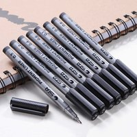 9pcs Set Art Marker Pen Copic Markers Brush Black Pigment Liner for Drawing School Supplies Stationery Canetas