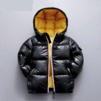 소년 다운 파카 겨울 어린이 캐주얼 두꺼운 코트 후드 아기 유아 따뜻한 겉옷 유아 자켓 옷 여자 아이 탑스