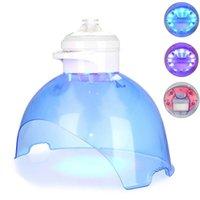3 colors LED Photon Face Mask Red Blue Light Skin Rejuvenation Hydrogen Facial Steamer Oxygen Water Machine for Spa use