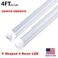 Integrated T8 Fluorescent Lamp 4ft 5ft 6ft 8ft 8 Feet LED Tu...