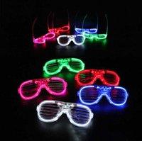 LED nachtlamp bril Joulds Party Dance Activity Bar Muziek Festival Juichen Props Creative Children's Speelgoed Groothandel